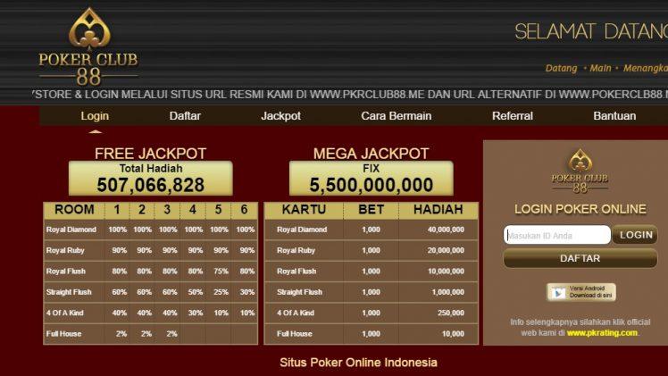 Pokerclub88: Memberikan Bonus Referral Super Gila Bagi Member Setia