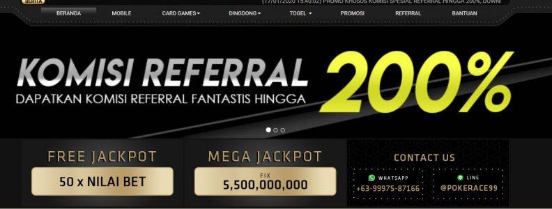 Link Alternatif Pokerace99 Terpercaya Hanya Disini!