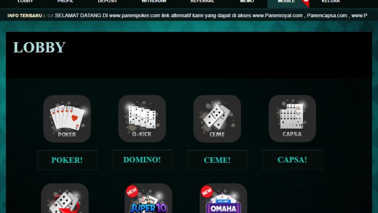 Review Soal Situs Gambling Terpopuler PanenPoker Online